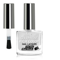 Golden Rose Rich Color Άσπρο Περλέ Μανό Nail Lacquer - 01