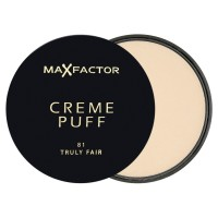 Max Factor Crème Puff Compact Powder - 81 Truly Fair