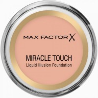 Max Factor Miracle Touch Liquid Illusion Foundation - 55 Blushing Beige