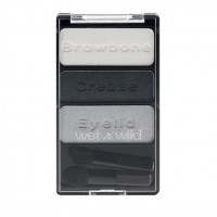 Wet n Wild Color Icon Eyeshadow Trio Mαυρογκρί Τριπλή Παλέτα Σκιών - E385B Don't Steal My Thunder
